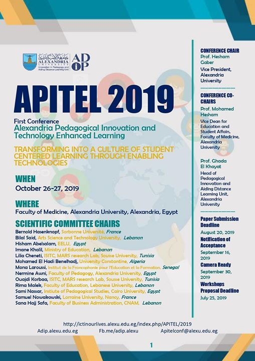 First International Conference Apitel 2019