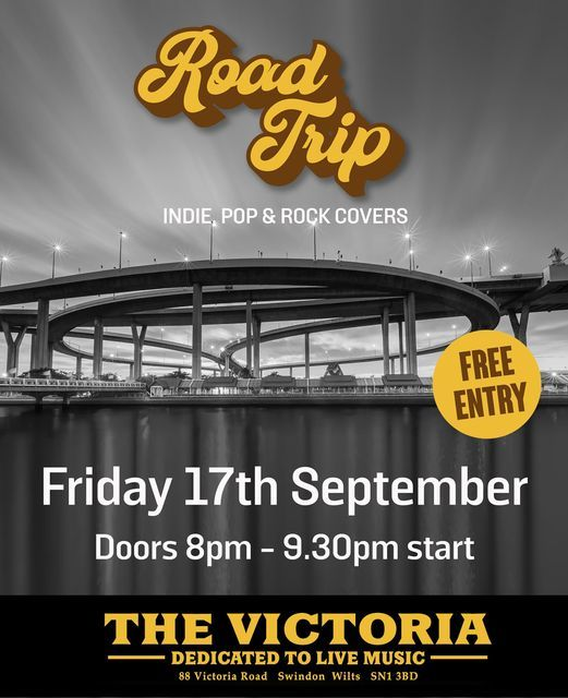 Road Trip - live at The Vic, 17 September | Event in Swindon | AllEvents.in