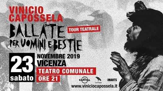 Vinicio Capossela  Teatro Comunale Vicenza