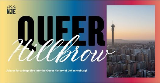 QUEER HILLBROW PRIDE TOUR, 20 June | Event in Johannesburg | AllEvents.in