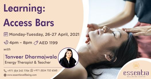 Access Bars Class with Tanveer Dharmajwala, 26 April | Event in Dubai | AllEvents.in