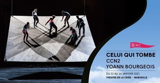 Celui qui tombe - CN2 / YOANN BOURGEOIS | Event in Marseille | AllEvents.in