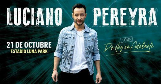 Luciano Pereyra en el Estadio Luna Park (Buenos Aires), 21 October   Event in Buenos Aires   AllEvents.in