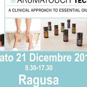 AROMATOUCH TECHNIQUE a  RAGUSA con Sabrina e Marco Petrollini-Blue Diamonds