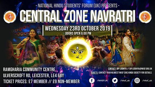 NHSF (UK) Central Zone Navratri 2019