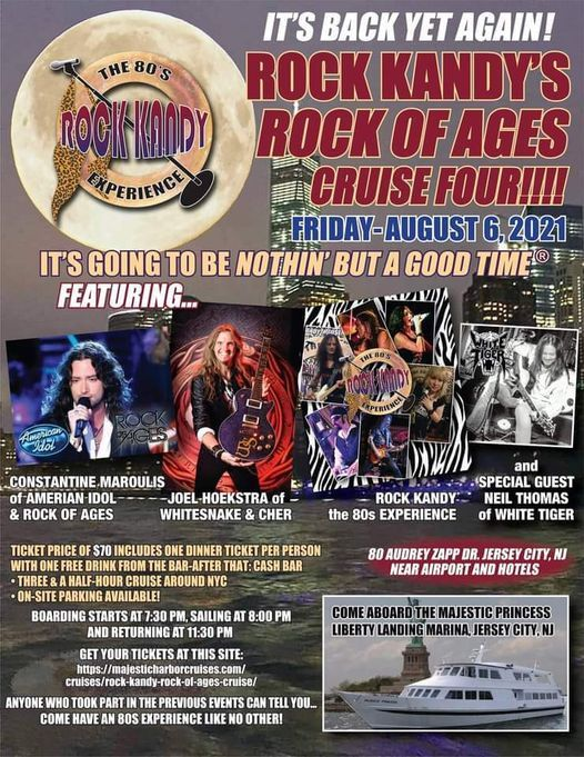 ROCK KANDY R.O.A. CRUISE 4, 6 August   Event in Jersey City   AllEvents.in