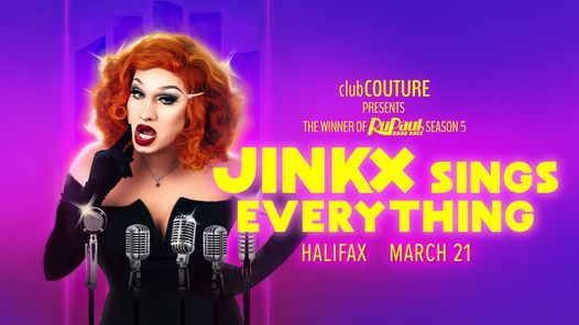 JINKX Sings Everything 14+ Halifax, 15 October | Event in Halifax | AllEvents.in