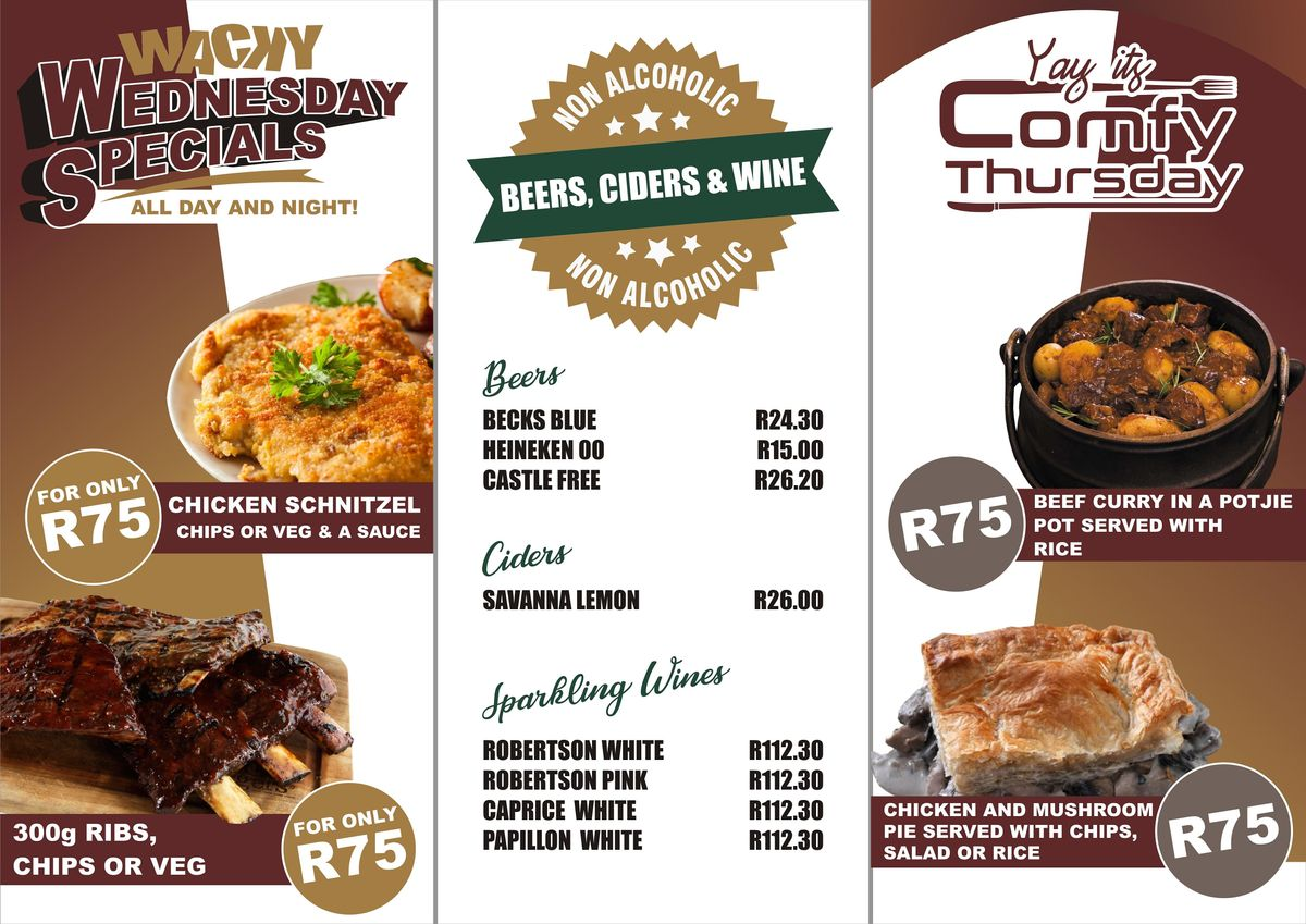 Comfy Thursday at Stonehaven On Vaal | Event in Vanderbijlpark | AllEvents.in