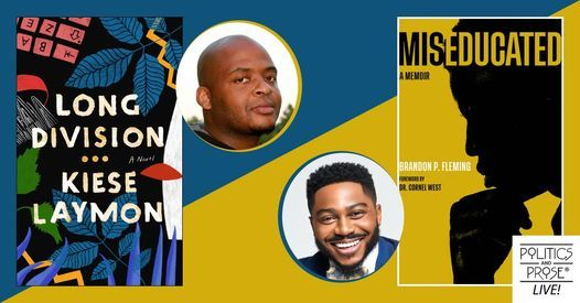 P&P Live! A Conversation with Brandon Fleming & Kiese Laymon, 23 June | Online Event | AllEvents.in
