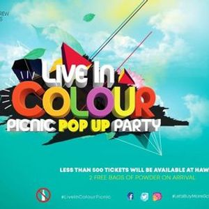 Live In Colour Pop Up Picnic - 2021