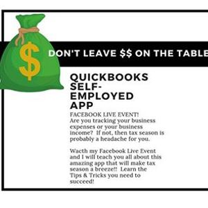 FB Live Event - Quickbooks Self Employed App at Locke Your