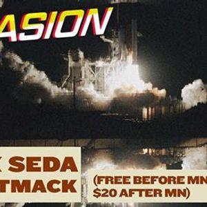 Invasion with Alex Seda & JustMack