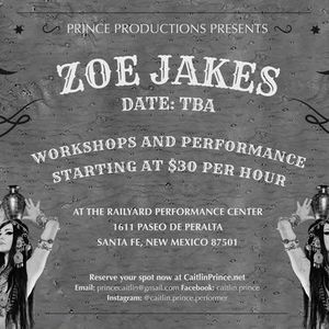 Workshops with Zoe Jakes