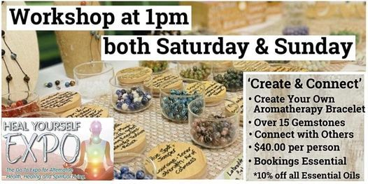 Create your very own Aromatherapy / Diffuser Gemstone Bracelet, 20 March | Event in Glanmire | AllEvents.in