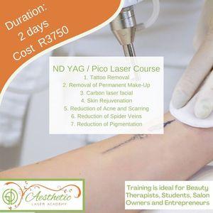 ND YagPico Laser Workshop