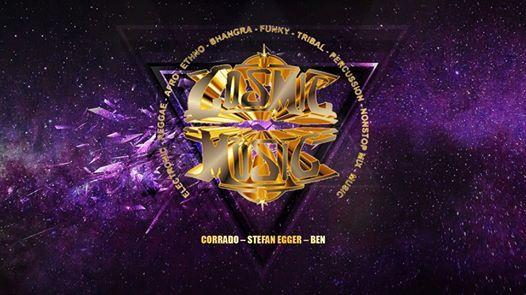 Cosmic-Music - Corrado  Stefan Egger  Ben