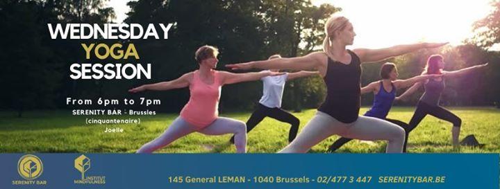 Reprise sance de yoga  Resumption session of yoga