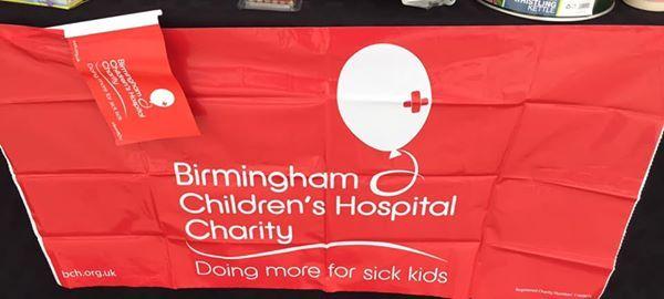 Raising Money for Birmingham childrens hospital
