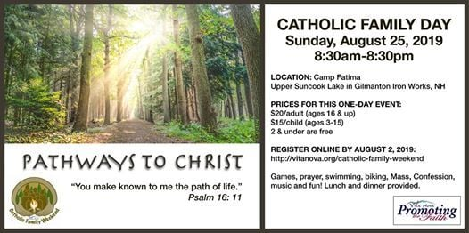 Catholic Family Day at Camp Fatima Rd, Gilmanton Ironworks, NH 03837
