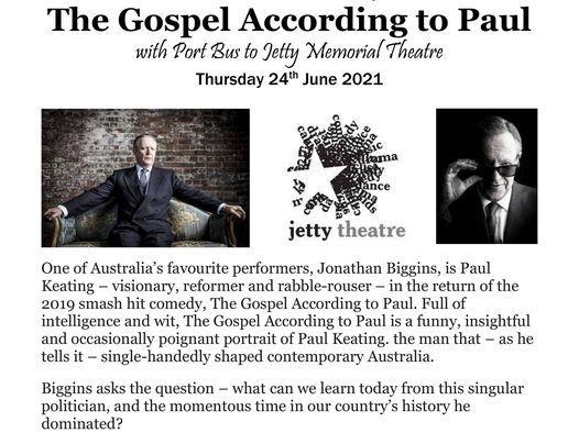 The Gospel According to Paul, 24 June   Event in Coffs Harbour   AllEvents.in