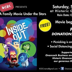 Movie Night Under the Stars Inside Out