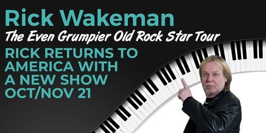 The Even Grumpier Old Rock Star Tour USA, 27 October | Event in Montclair | AllEvents.in