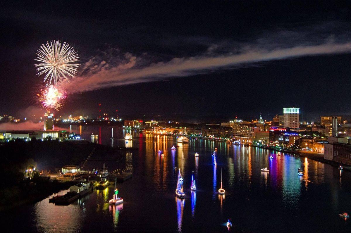 Savannah Christmas Boat Parade 2020 2020 Savannah Harbor Boat Parade of Lights!, River Street Savannah