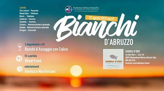 Bianchi dAbruzzo - Degustazione a Sabbia dOro
