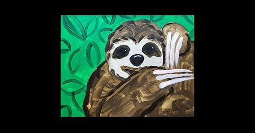 Slothy McSloth Face (Ages 5 & Up)