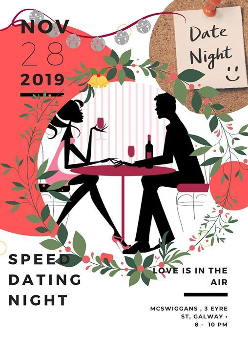 Galway Speed Dating Ages 28 - 38 Tickets, Tue 28 Jan 2020