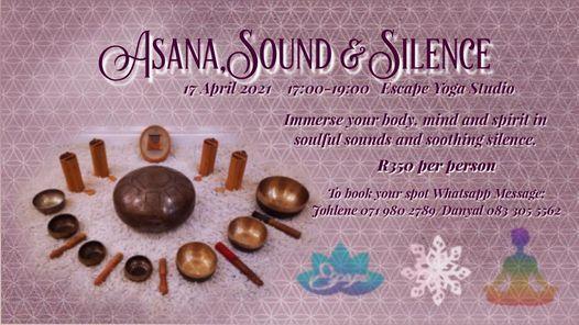 Asana, Sound and Silence in April, 17 April   Event in Pretoria   AllEvents.in