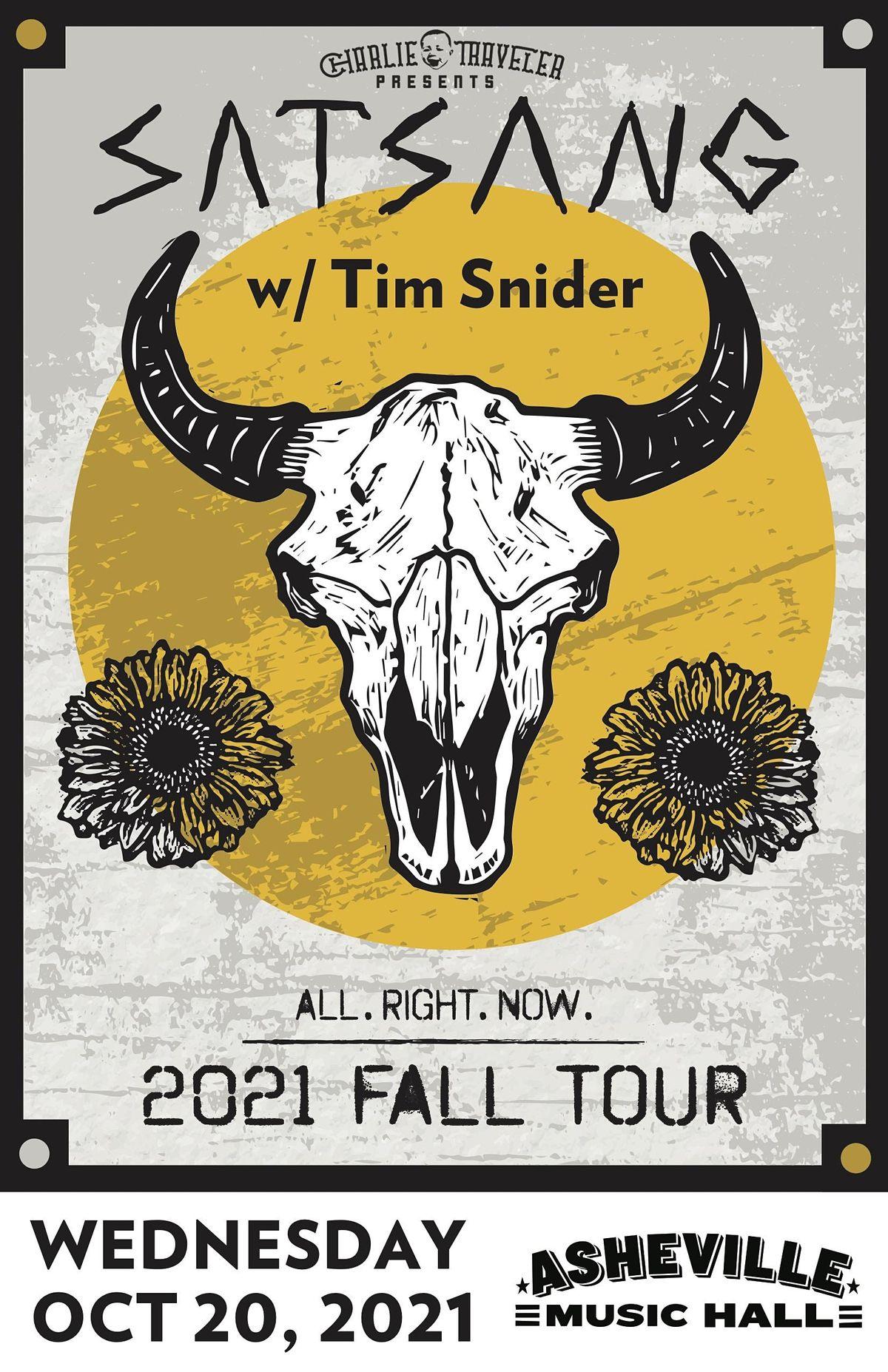 CHARLIE TRAVELER PRESENTS: Satsang w/Tim Snider - [reggae / soul / folkhop], 20 October | Event in Asheville