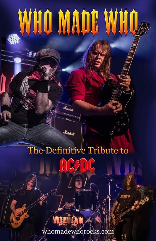 Who Made Who / AC/DC Tribute, 16 January | Event in Toronto | AllEvents.in
