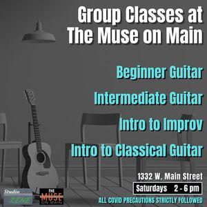Guitar Lessons - Beginner to Advanced with Studio Zene