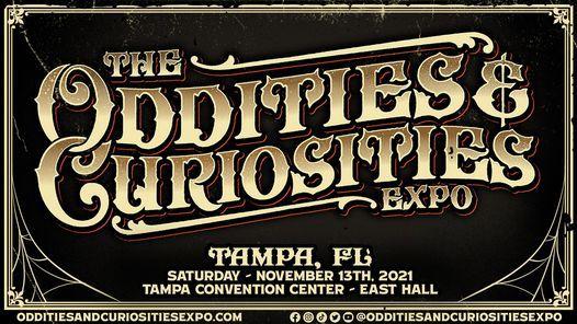 Tampa Oddities & Curiosities Expo 2021, 13 November   Event in Tampa   AllEvents.in