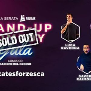SOLD OUT - Stand-Up Comedy Gala