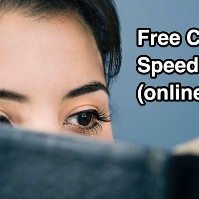 Speed Reading Class - Garland