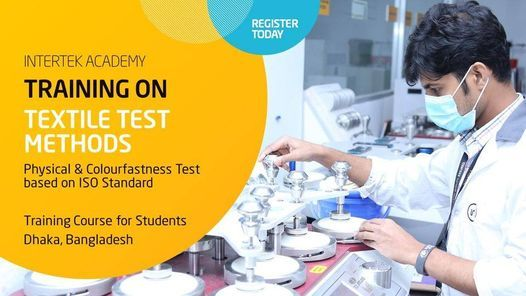 Training on Textile Test Methods - ISO Standard, 28 October | Event in Dhaka | AllEvents.in