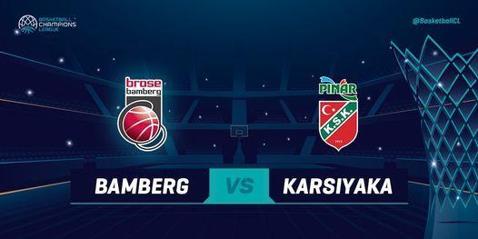 Brose Bamberg v Pinar Karsiyaka, 8 December | Event in Bamberg | AllEvents.in