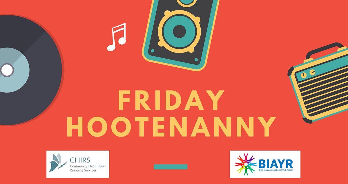 Friday Hootenanny - BIAYR and CHIRS Online Programming