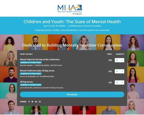 Children and Youth: The State of Mental Health Virtual Conference (Fee), 26 April | Event in Staunton | AllEvents.in
