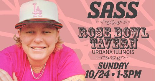 Sass: Live at Rose Bowl Tavern | Event in Urbana | AllEvents.in