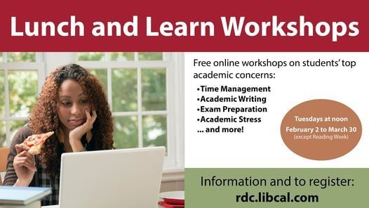 Lunch and Learn Workshops | Event in Red Deer | AllEvents.in
