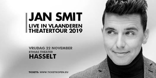 Jan Smit live in Vlaanderen - Ethias Theater Hasselt