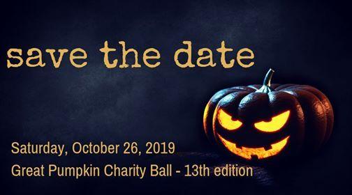Great Pumpkin Charity Ball - 13th edition