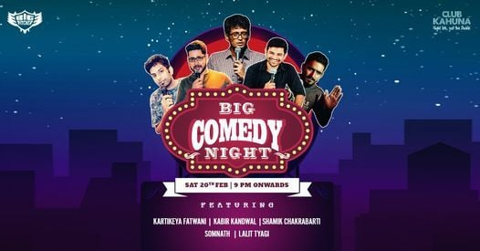 Big Comedy Night | Event in Bangalore | AllEvents.in