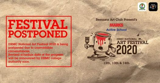 Remians Art Club presents DRMC National Art Festival 2020, 7 January | Event in Dhaka | AllEvents.in