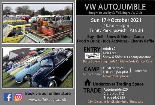 VW AUTOJUMBLE, 17 October | Event in Ipswich | AllEvents.in