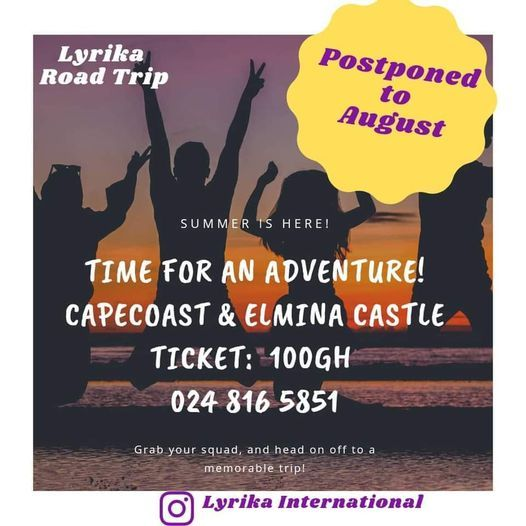 Lyrika Road Trip, 14 August | Event in Accra | AllEvents.in