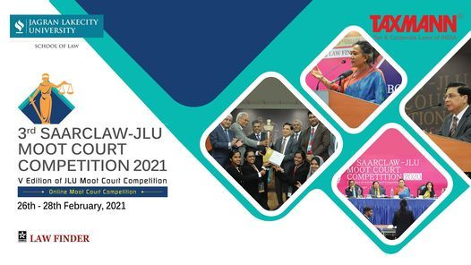 3rd SAARC-LAW JLU Moot Court Competition 2021 | Online Event | AllEvents.in